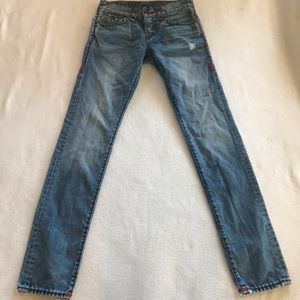 True religion relaxed skinny Rocco size 28